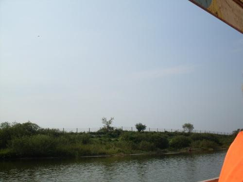 Landing in DPRK - Sept. 2008